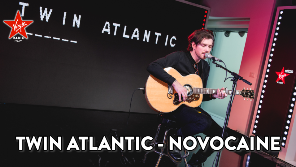 Twin Atlantic: guarda l'esibizione di Novocaine acustica sul palco di Virgin Radio