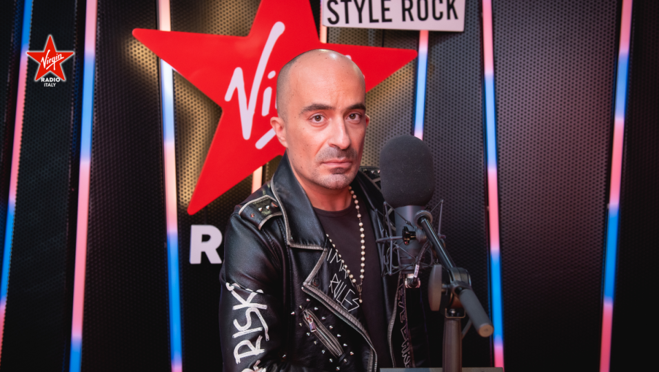 Guarda le foto di Francesco Allegretti nel nuovo studio di Virgin Radio