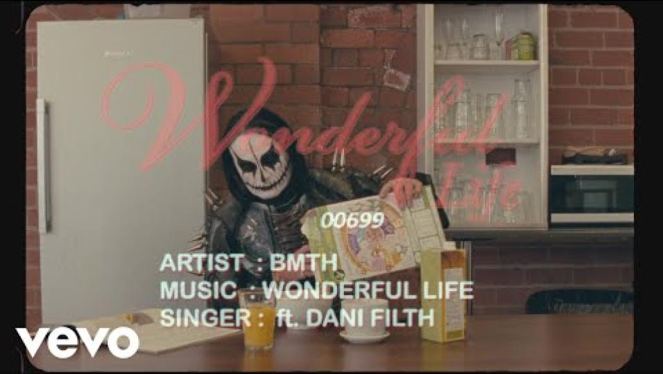 Bring Me The Horizon - wonderful life ft. Dani Filth