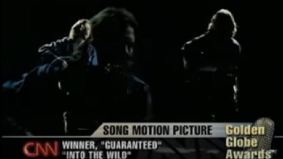 Eddie Vedder vince il Golden Globe con Guaranteed, colonna sonora del film Into The Wild
