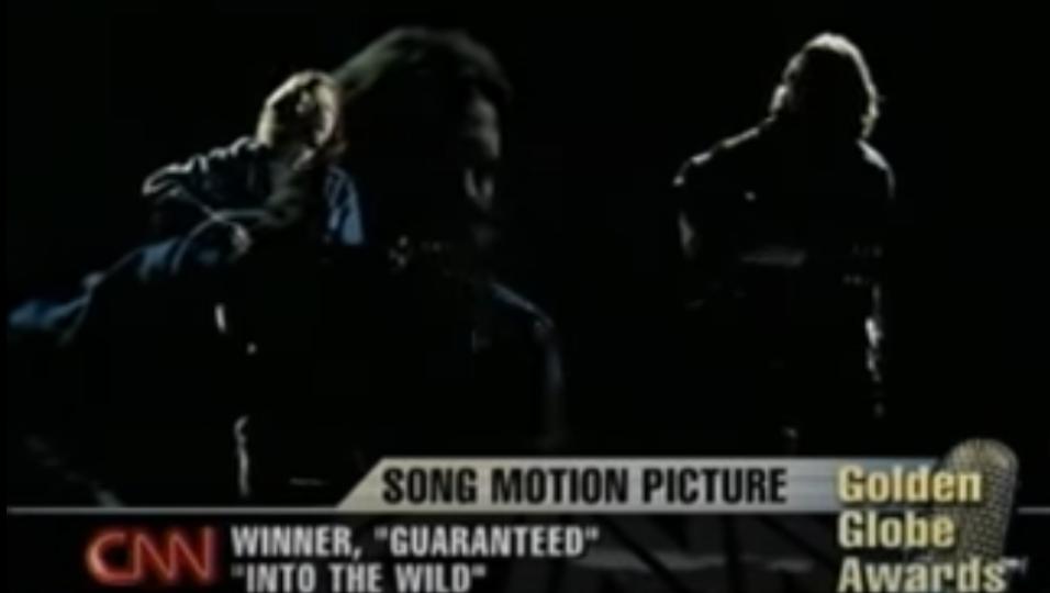 Eddie Vedder vince il Golden Globe con Guaranteed, colonna sonora del film Into The Wild