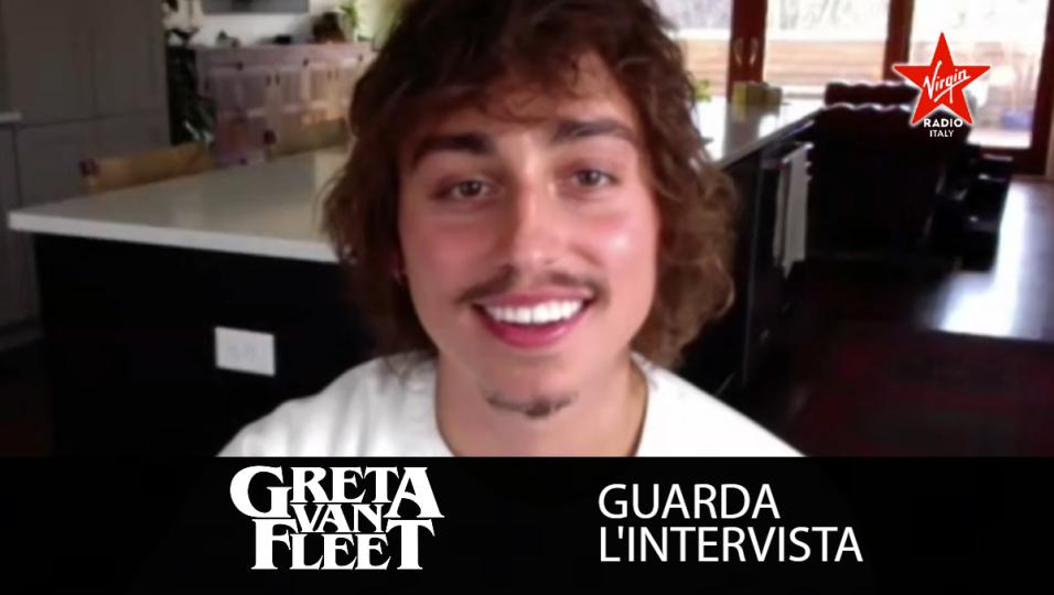 Greta Van Fleet: guarda l'intervista con Josh Kiszka