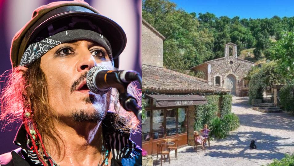 Johnny Depp vorrebbe vendere il villaggio francese di sua proprietà per 55 milioni di dollari. Guarda le foto e il video