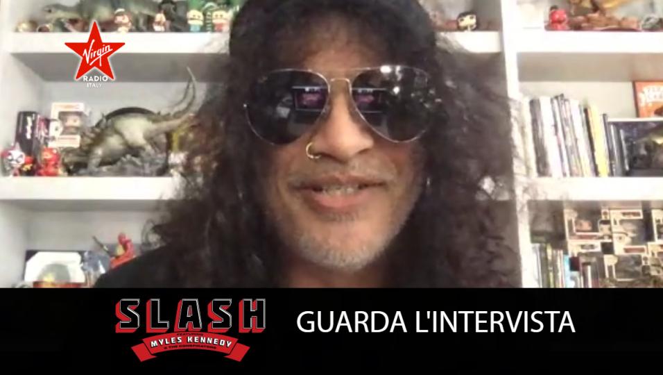 Slash: guarda l'intervista