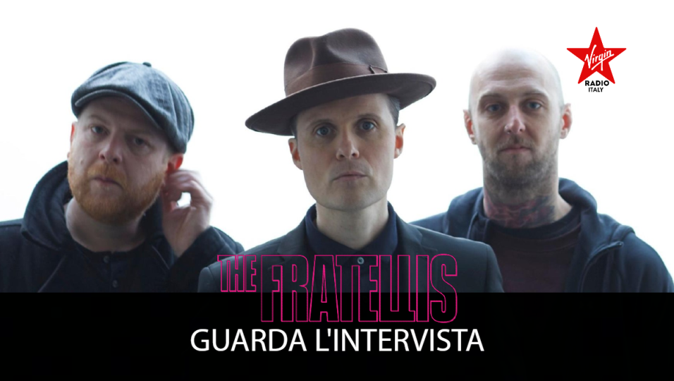 The Fratellis: guarda l'intervista con Jon Fratelli