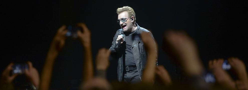 U2: le foto del concerto di Dublino