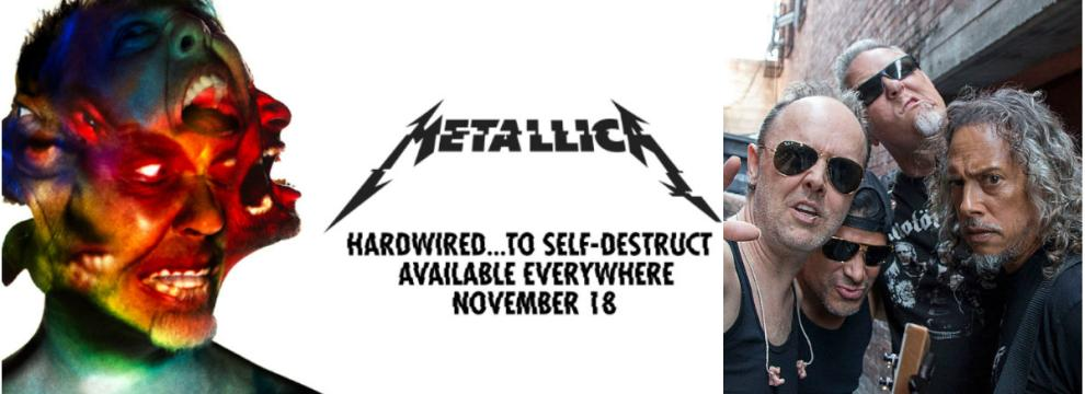 "Metallica: il nuovo disco ""Hardwired...To Self-Destruct"" esce il 18 novembre (video)"