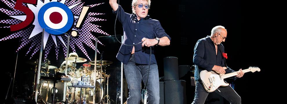 The Who: le foto più belle del concerto a Bologna