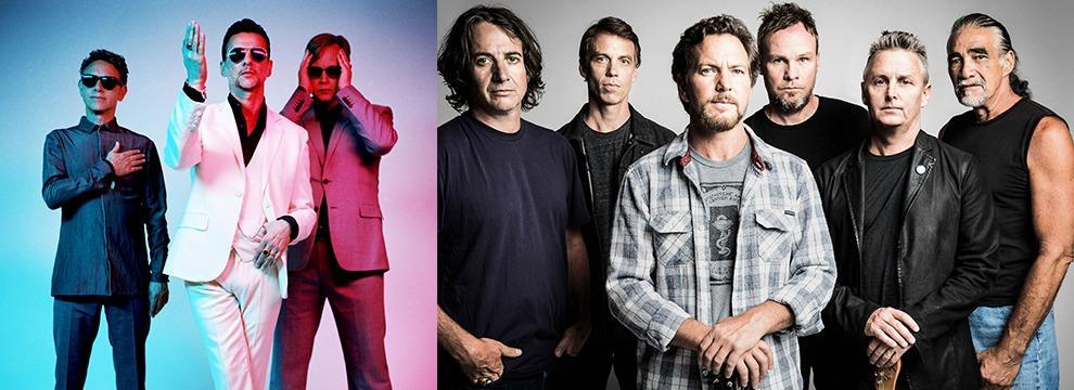 Depeche Mode e Pearl Jam in lizza per entrare nella Rock and Roll Hall of Fame
