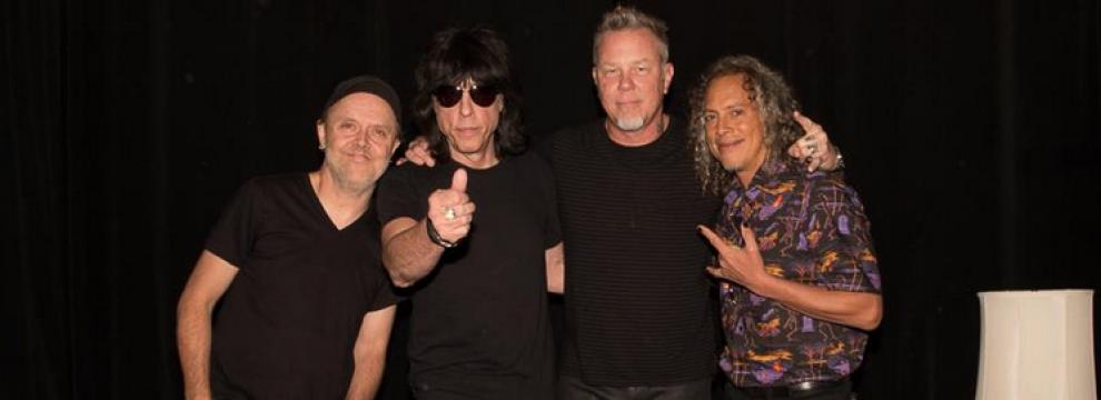 Metallica: il video con l'intervista esclusiva realizzata da Marky Ramone a James Hetfield. Ecco come è andata!