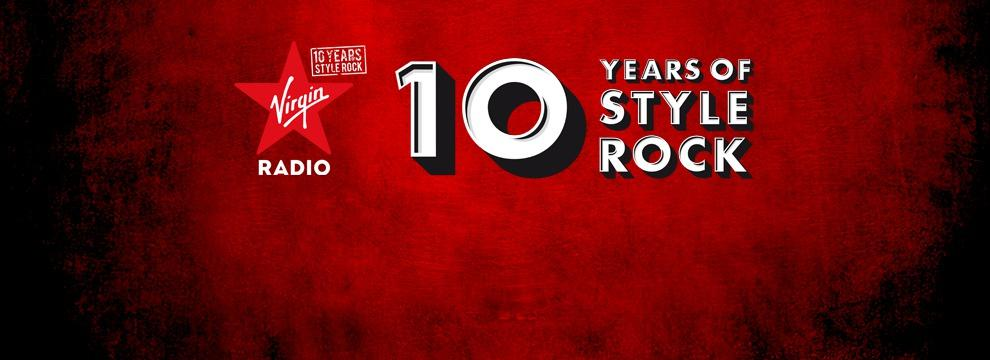 Virgin Radio - Ten Years Of Style Rock. Ascolta la webradio dedicata!