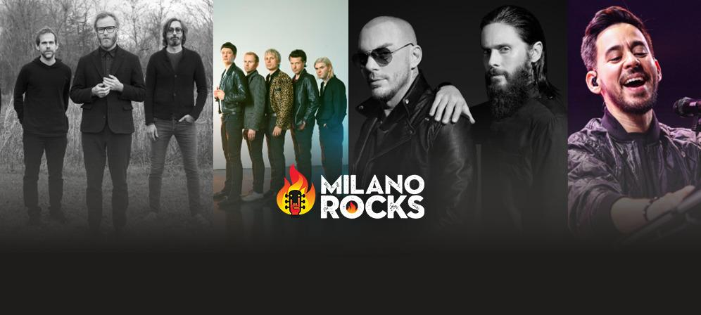 Speciale Milano Rocks: tutte le info sul festival con 30 Seconds To Mars, Mike Shinoda, Franz Ferdinand e The National