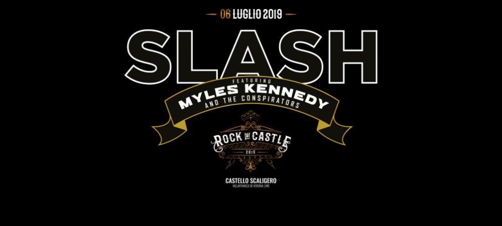 SLASH: acquista i biglietti per il concerto del 6 luglio in anteprima