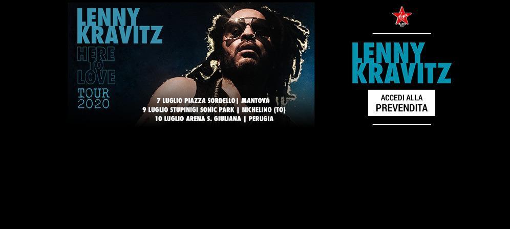Lenny Kravitz: accedi alla prevendita per i concerti di Mantova, Nichelino (TO) e Perugia