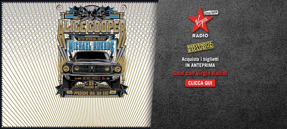 Alice Cooper: live all'Ippodromo di San Siro - Milano. Accedi alla prevendita