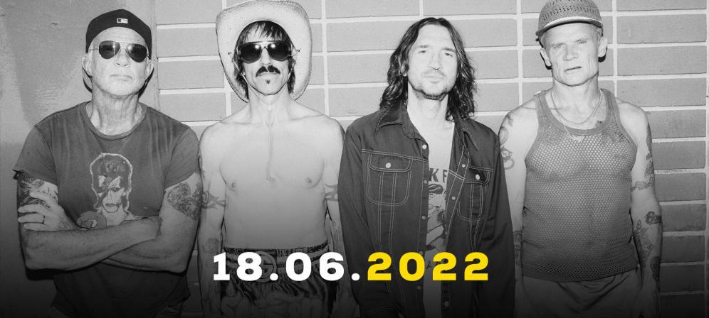 Red Hot Chili Peppers: UFFICIALE a Firenze Rocks il 18 giugno 2022. Tutte le info