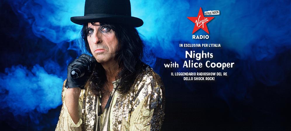 NIGHTS WITH ALICE COOPER SU VIRGIN RADIO! SCOPRI COME ASCOLTARLO OGNI SABATO ALLE 22:00