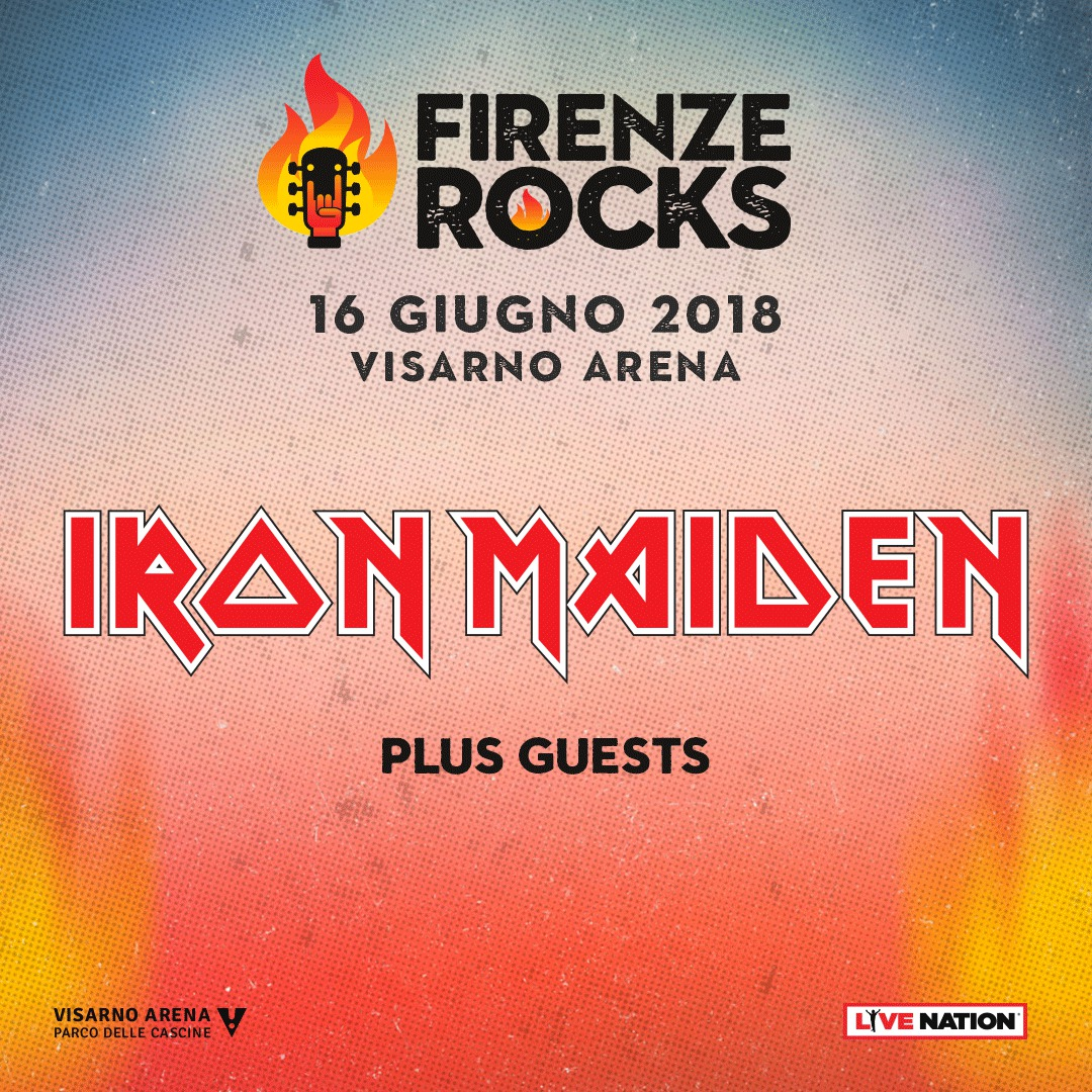 Iron Maiden Firenze Rocks 2018