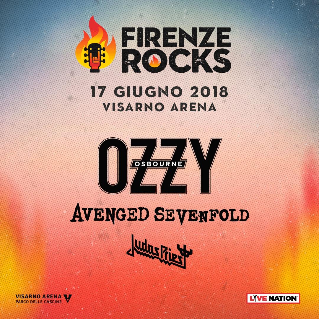 Ozzy Osbourne Firenze Rocks 2018