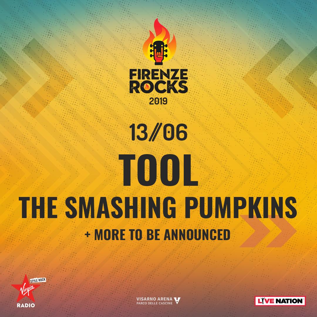Smashing Pumpkins: UFFICIALE a Firenze Rocks il 13 giugno 2019! Tutte le info e biglietti