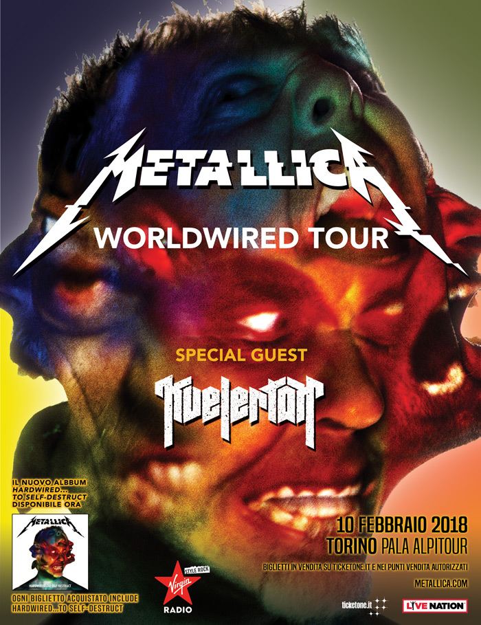 Metallica Tour 2018: date in Italia, info biglietti. Misure anti-secondary ticketing